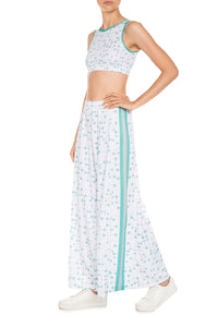 Molecular Wide Leg Pants