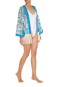Marilyn Eye of the Myth Fringe Jacket