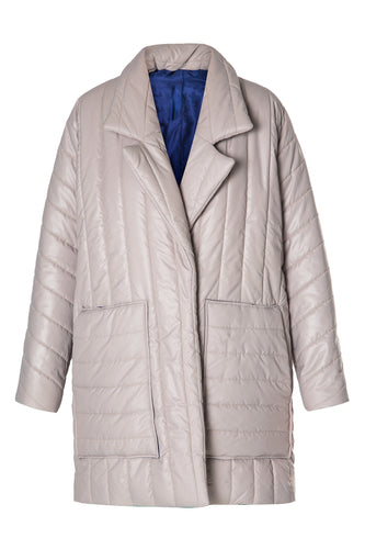 Quilted Car Coat