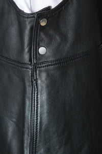 Leather Apron Dress