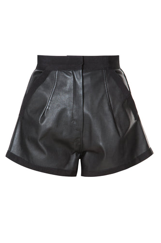 Leather Shorts