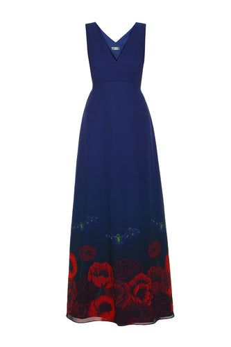 Bat Bouquet Maxi Dress