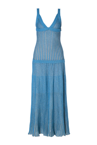 Slim Ribbed Knit Dress