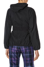 Load image into Gallery viewer, Zip Front Hoody Jacket - Black