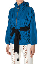 Load image into Gallery viewer, Zip Front Hoody Jacket - Blue