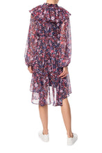 Load image into Gallery viewer, Maleficent Ruffle Dress - Purple