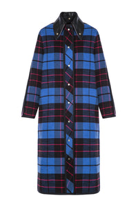 Plaid Shirting Coat