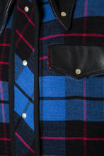 Load image into Gallery viewer, Plaid Shirting Coat