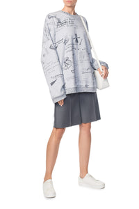 Mary Poppins Sweatshirt - Grey
