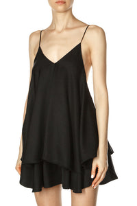 Trapeze Top - Black