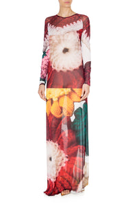Floral Slim Gown