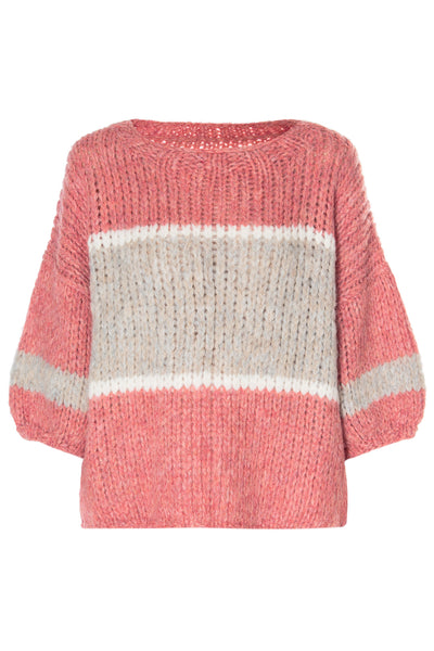 Striped Alpaca Sweater