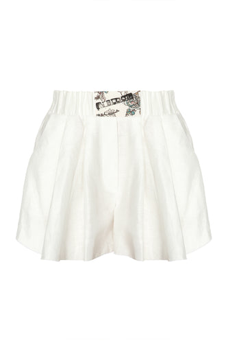Soft Shorts - White
