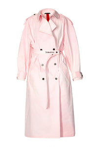Cape Back Trench - Pink