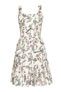 Blossom Pleated Day Dress