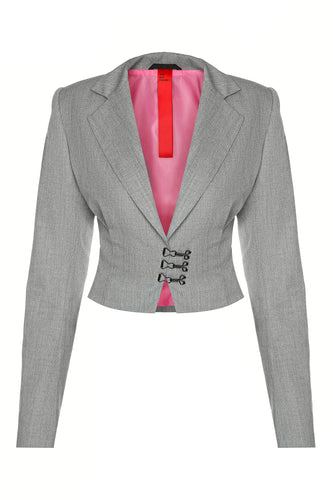Typewriter Fitted Jacket