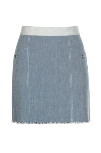 Madonna Denim Skirt