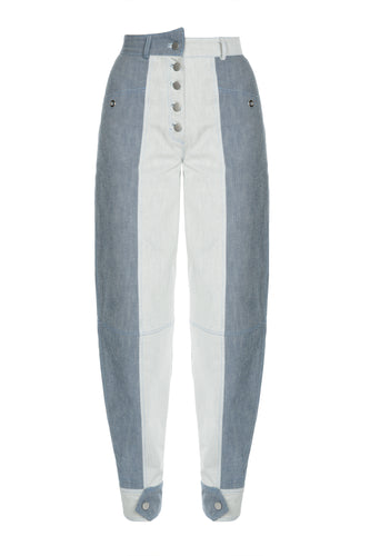 Queen High Waist Denim Pants