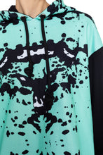 Load image into Gallery viewer, Hoodie Rorschach Dress