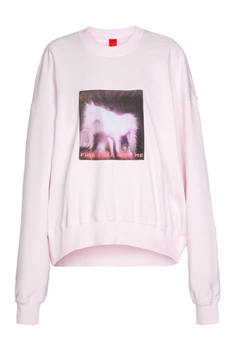 Lynch Horse Print Sweatshirt