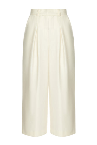 Tailored Wool Culottes