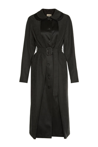 Peter Pan Double Collar Coat