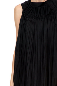 Pleat Front Dress