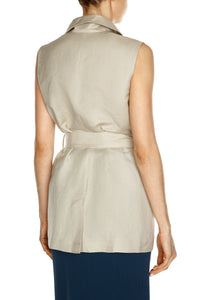 Safari Organza Pockets Vest