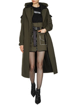 Load image into Gallery viewer, Convertible Cargo Skirt - Olive