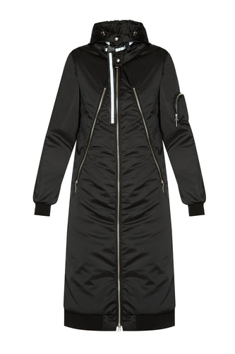 Zipper 3-in-1 Long Coat