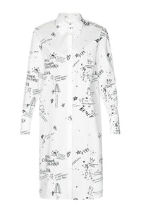 Modern Princess Shirtdress