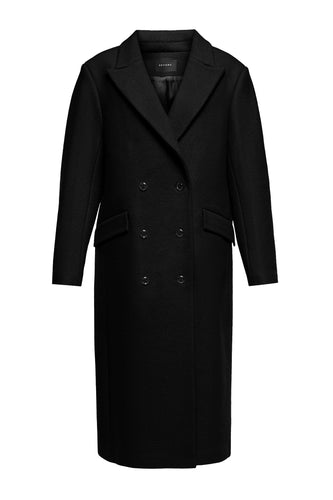 Double Breasted Wool Menswear Coat
