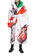 Load image into Gallery viewer, Viva L'Italia Puffer Coat