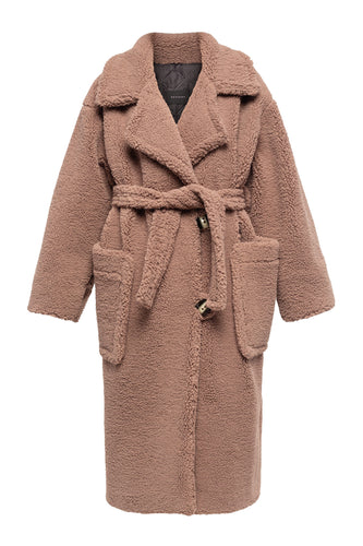 Oversized Teddy Bear Coat