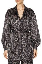 Load image into Gallery viewer, Snow Maiden Kimono Jacket - Black