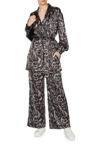 Snow Maiden Pajama Pants - Black
