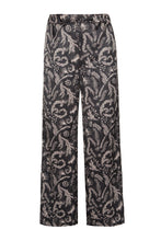Load image into Gallery viewer, Snow Maiden Pajama Pants - Black