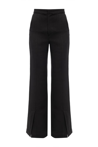 Monica Wide Leg Pants - Black