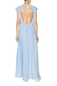 Open Back Maxi Dress