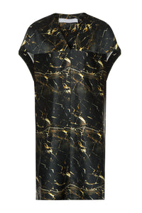 Silk Cocoon Dress