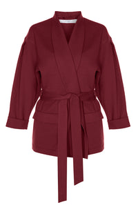 Soft Wrap Jacket - Rouge