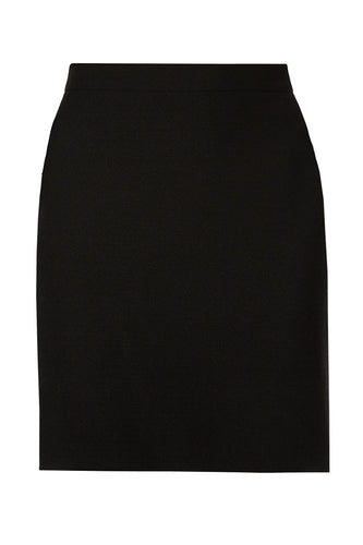 Slim Tailored Skirt - Black
