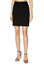 Load image into Gallery viewer, Slim Tailored Skirt - Black
