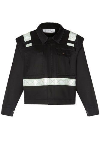 Cropped Worker Jacket