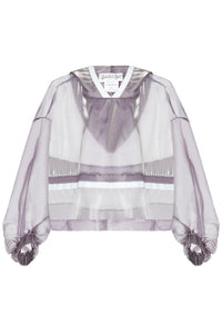 Sheer Technical Trim Hoody