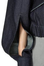 Load image into Gallery viewer, Denim Sleeve Detail Jacket