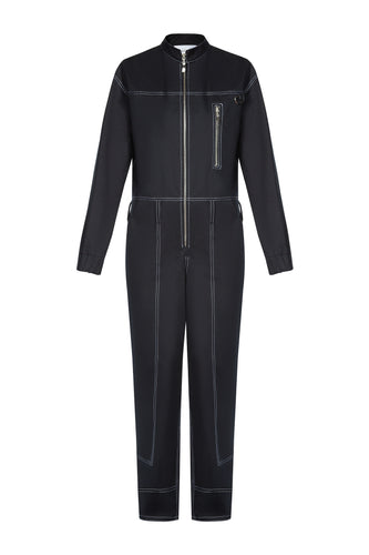 Zipper Jumpsuit