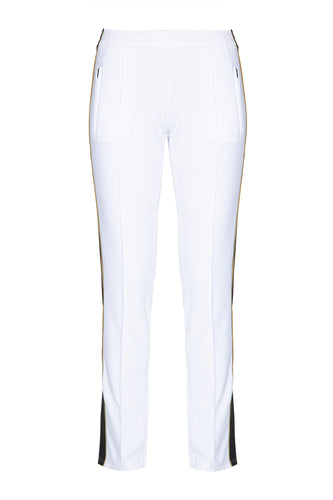 Lou Track Pants - White
