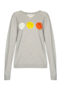 Laura Tennis Ball Sweatshirt