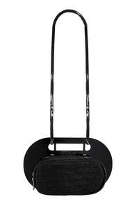 Fillet Handbag - Pitch Black
